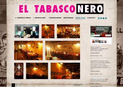 Webdesign en hosting Tabasco Nero in Hoorn
