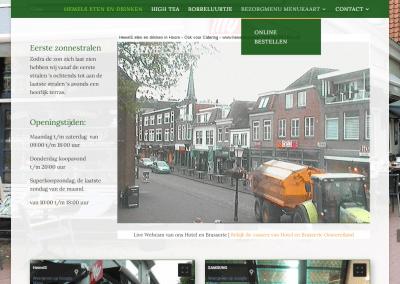 Webdesign en hosting voor Hemels eten en drinken in Hoorn