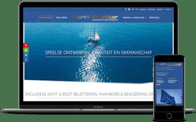 Lancering Yachtsigs Website