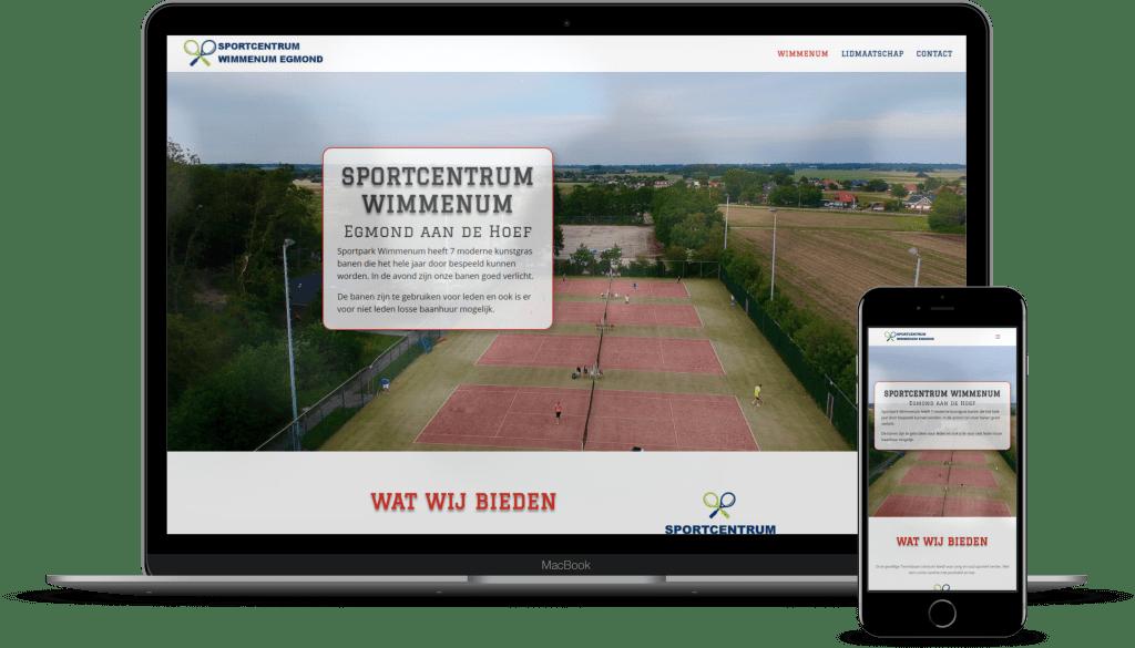 Tenniscentrum Wimmenum Egmond aan de Hoef